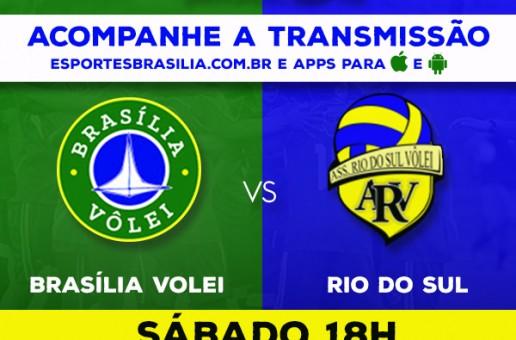 Superliga Feminina – Brasília Vôlei x Rio do Sul